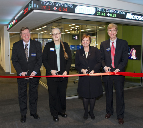 Walsh College Opens 1,400 Square-Foot Finance Lab To Transform Finance Education Experience