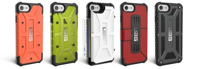 URBAN ARMOR GEAR UNVEILS FIVE SERIES OF RUGGED CASES FOR APPLE'S NEW IPHONE 7 & 7 PLUS Offers everything from 2X Drop Protection, to the ability to hold 4 cards, all while remaining lightweight and slim.