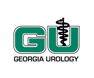 This is the logo for Georgia Urology, the largest urology practice in the Southeastern United States.
