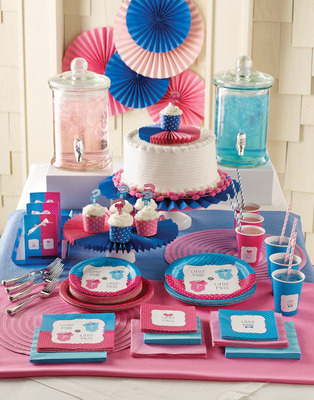 gender reveal party supplies paper shop