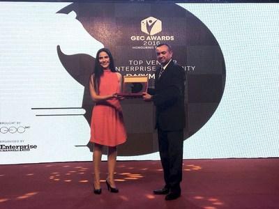 DarkMatter Named 'Top Vendor - Enterprise Security' at High-profile Middle East and Africa IT Awards