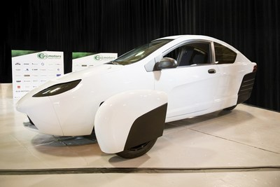 Elio Motors CEO Paul Elio today unveiled the company's first E-Series vehicle, the E1A, which will be used by the company and its suppliers for calibration and testing. The vehicle, one of 23 planned, was presented before more than 200 supplier partners and invited guests at the company's Pilot Operations Center in Livonia, Mich.