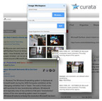 Curata, content curation solution integrates with Zemanata to provide customers image recommendations.  (PRNewsFoto/Curata, Inc.)