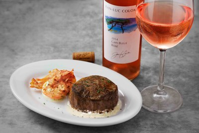Join Ruth's Chris Steak House in celebrating the Filet Mignon with a special Filet and Rose pairing now through September 5. The special promotion includes a 6 oz. filet, served with three succulent shrimp paired with a glass of Rose for $30.