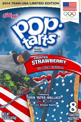 Freeskier Torin Yater-Wallace, U.S. Olympic hopeful and member of Team Kellogg's(TM), will be featured on boxes of Kellogg's(R) Pop-Tarts(R) beginning in December. (PRNewsFoto/Kellogg Company) (PRNewsFoto/KELLOGG COMPANY)