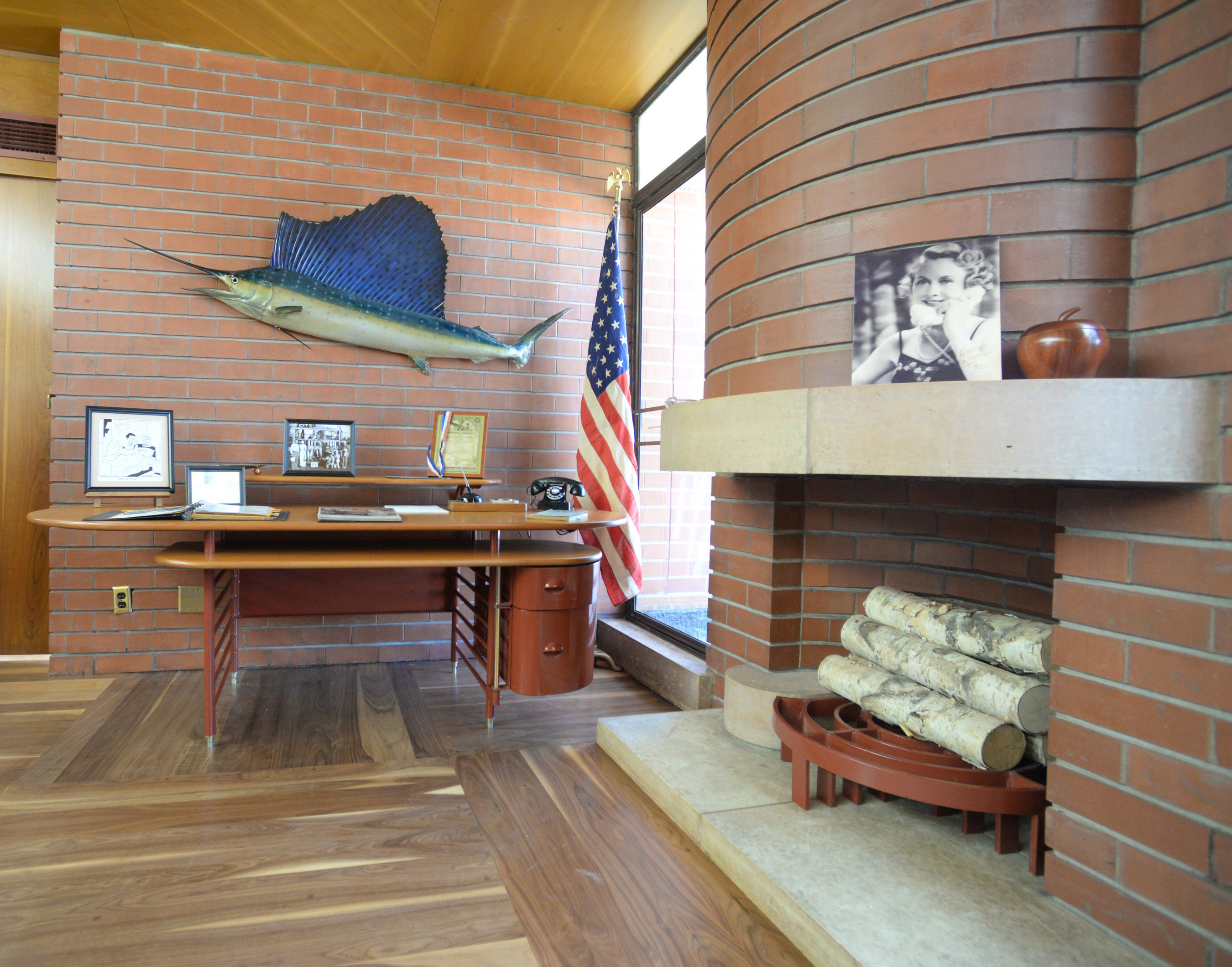 New this year, visitors can explore the refurbished 1940's penthouse office of SC Johnson's third-generation leader H.F. Johnson Jr.