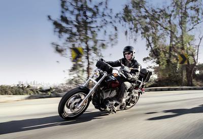 Harley-Davidson's new Low Rider(R). For more information check out www.harley-davidson.com/lowrider. (PRNewsFoto/Harley-Davidson Motor Company)