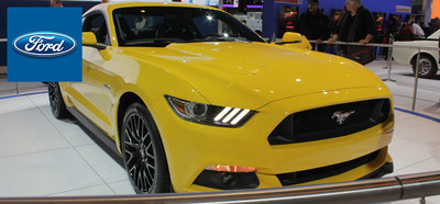 The 2015 Ford Mustang represents a new demonstration of the classic coupe's provocative style and attractive performance profile. (PRNewsFoto/Mike Castrucci Ford Alexandria)