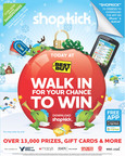 Simply Walk In and Win - shopkick Is Your True Love With '12 Days of Kickmas' Sweepstakes