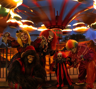 Fright Fest at Six Flags Great America with more than 250 monsters descending on theme park goers.