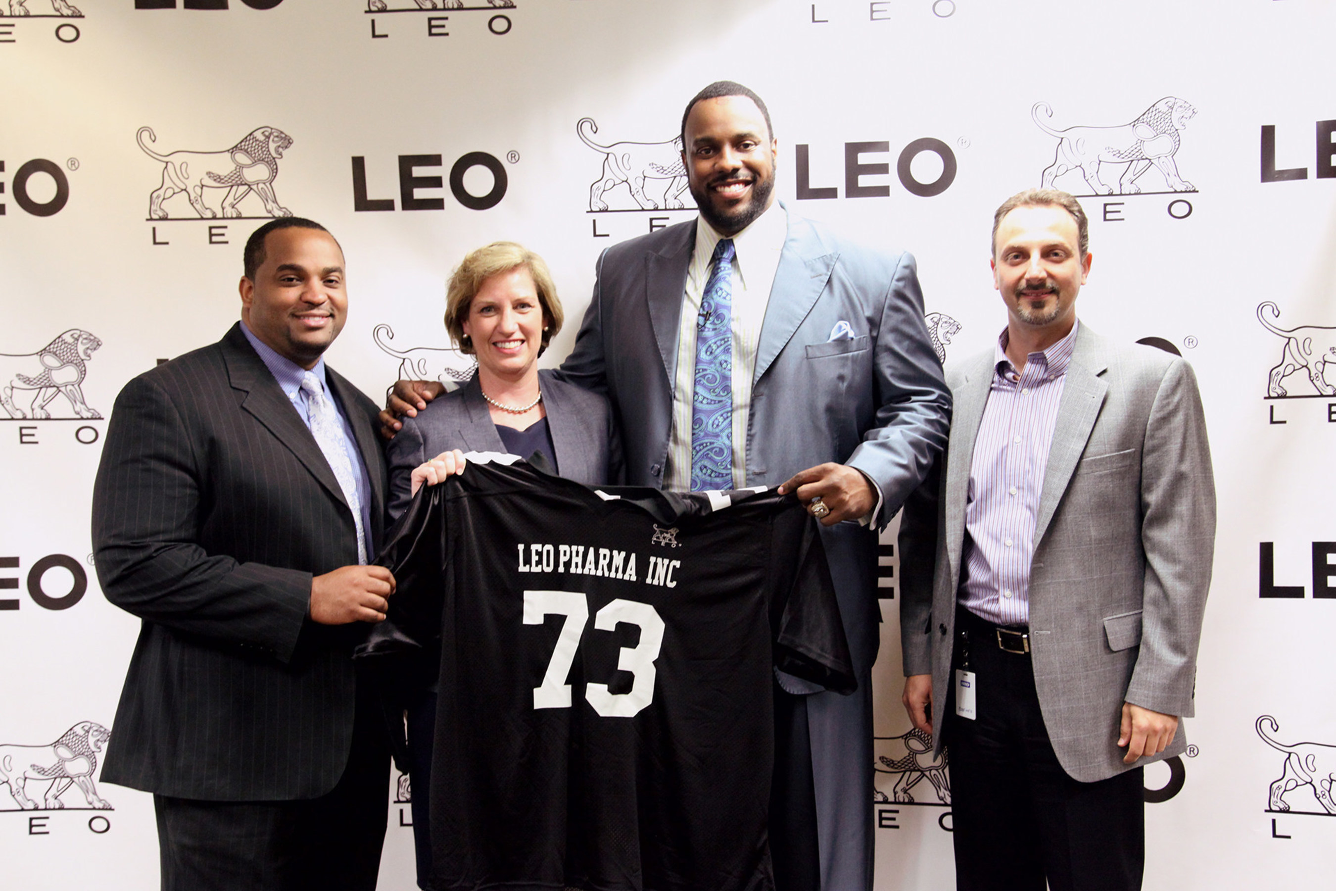 LEO Pharma Inc. and Professional Football Player Jonathan Scott Partner To Increase Psoriasis