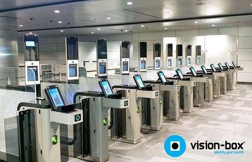 Vision-BoxÂ(R) recently opened Multibiometric eGates at Hamad International Airport (PRNewsFoto/Vision-Box)
