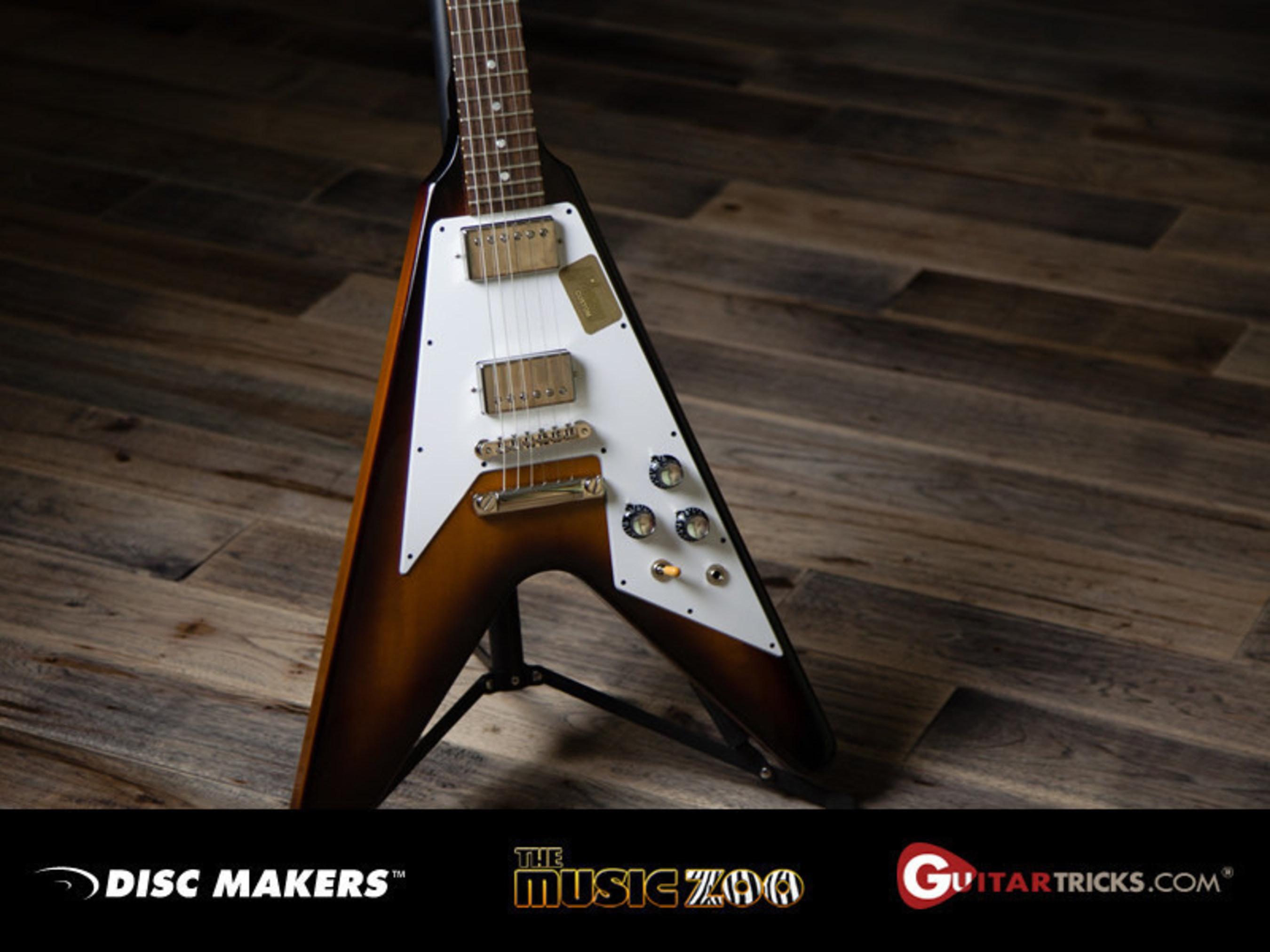 Disc Makers Partners with The Music Zoo and Guitar Tricks to Bring Guitarists the Axe to the Max Sweepstakes