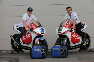 Yamaha Generators to Supply Power for AirAsia-Caterham Moto Racing Team (PRNewsFoto/Yamaha Motor Corp., U.S.A.)