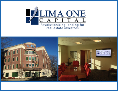 Greenville Hard Money Lender announces expansion into new 9,000 square foot company headquarters.  The first step in an expansion that will revolutionize lending for real estate investors throughout the country.  (PRNewsFoto/Lima One Capital)