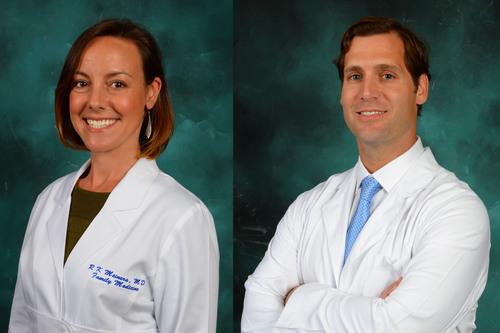 Drs. Kim and Vaughn Meiners join Primary Care Plus in Baton Rouge, LA. (PRNewsFoto/Primary Care Plus) (PRNewsFoto/PRIMARY CARE PLUS)