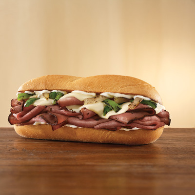 Arby's(R) Introduces what Could be the Best Philly Sandwich Outside of Philly.  (PRNewsFoto/Arby's Restaurant Group, Inc., Stephen Hamilton)