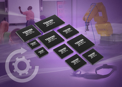 Toshiba's new ARM Cortex-based M3H microcontrollers target a broad range of motor control, sensing and consumer applications.