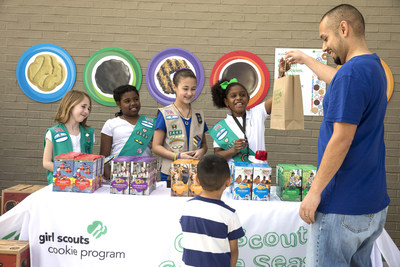 Girl Scouts of the USA announces National Girl Scout Cookie Weekend and three new cookie varieties for the 2015 cookie season.