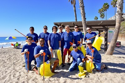 WebMD Cares Impact Day 2016 - Employees worked with the San Clemente Watershed Task Force to clean up the beach.
