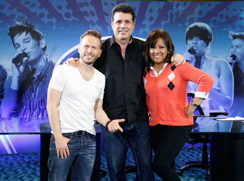 Idol Puerto Rico Judges: Noel Schajris, Topy Mamery and Milly Quezada. / Jurado de Idol Puerto Rico: Noel ...