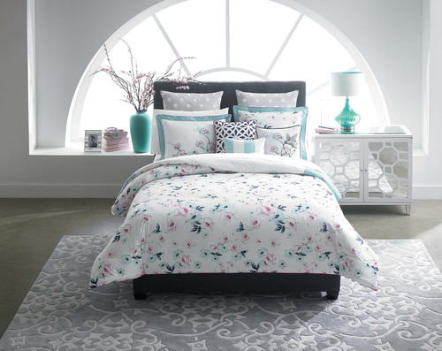 CYNTHIA Cynthia Rowley Home Offers Bedding And Home Decor Items.  (PRNewsFoto/Belk,