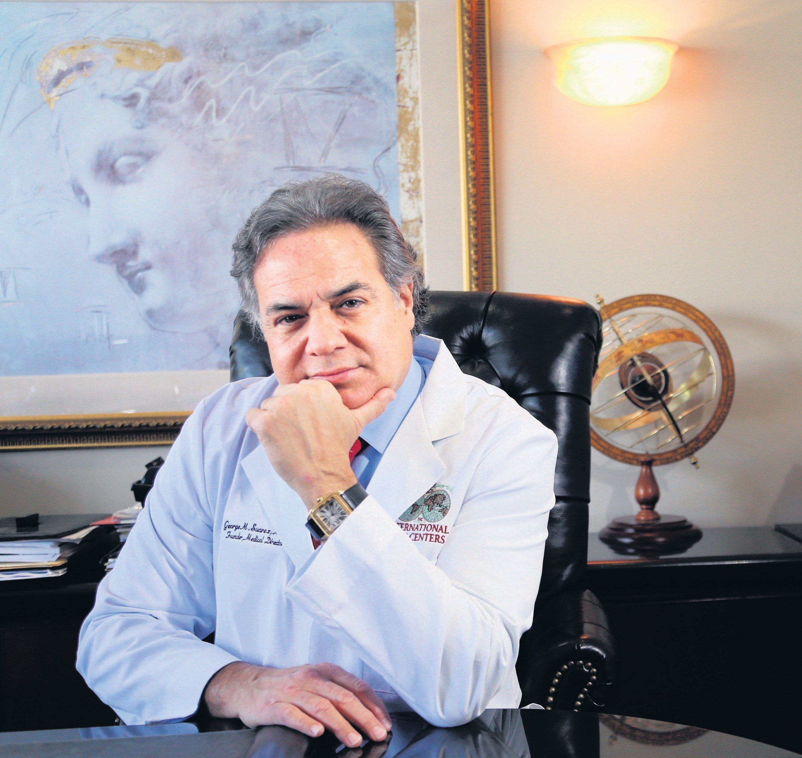 Dr. George Suarez is the world-leading expert in HIFU (high intensity focused ultrasound) for prostate cancer.