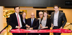 Convene celebrates opening of its fourth corporate conference center at 101 Park Ave, NYC.  (PRNewsFoto/Convene)