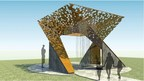 Rendering of the winning human rights memorial honoring the late Nelson Mandela. (photo courtesy of Moody Nolan Architects)