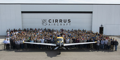 Cirrus Aircraft Delivers 6,000th Airplane
