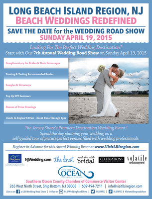 Wedding couples and their entourage enjoy complimentary wedding planning tour designed to showcase the unique options within the Long Beach Island Region of New Jersey.