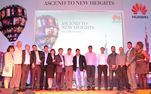 Winners of Ascend to New Heights (PRNewsFoto/Huawei)