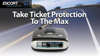 ESCORT: Take Ticket Protection to the Max. (PRNewsFoto/ESCORT Inc.) (PRNewsFoto/ESCORT INC.)