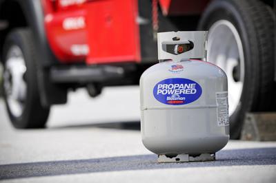 Propane cylinder safety tips from Blossman Gas.  (PRNewsFoto/Blossman Gas)