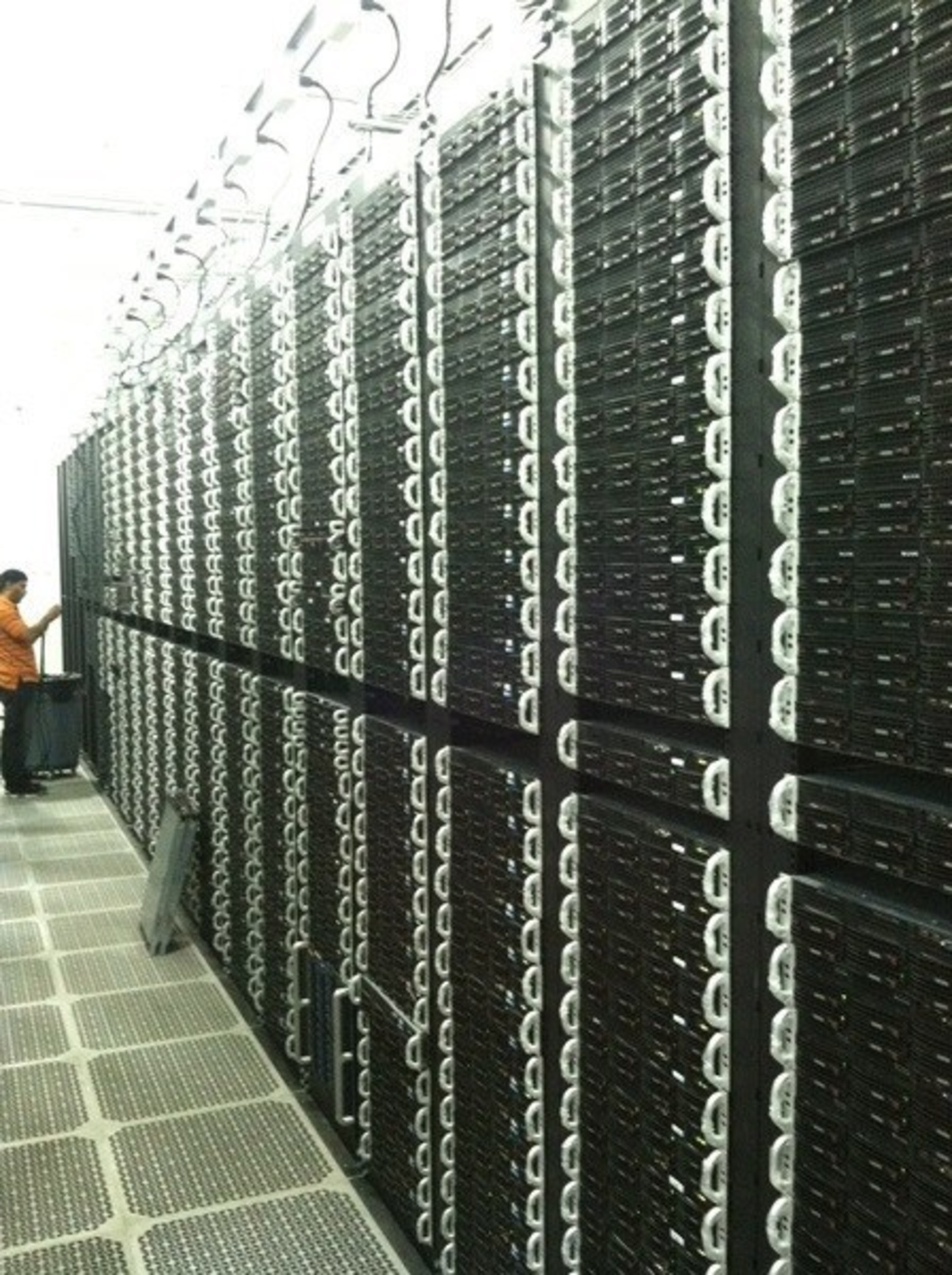 One of Vultr's 14 datacenters offering low-latency, scalable platforms worldwide
