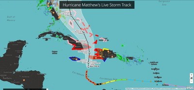 View an interactive map of hurricane risk at this link: https://www.directrelief.org/2016/10/hurricane-matthew-risk-vulnerability-factors/