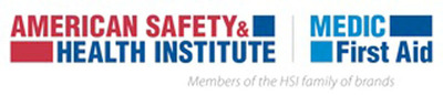 American Safety & Health Institute and MEDIC First Aid are members of the HSI family of brands.  (PRNewsFoto/Health & Safety Institute)
