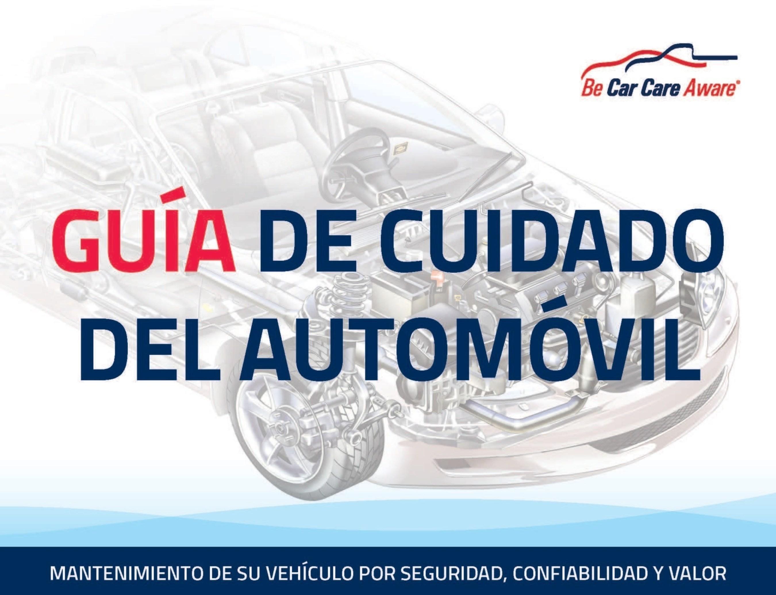 Guia de Cuidado del Auto gratis del Car Care Council en www.carcare.org
