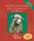 "Heifer International's ""Most Important Gift Catalog in the World"".  (PRNewsFoto/Heifer Project International)"