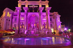 The Forum Shops at Caesars(R) is showing its support for Simon's 'Mission Pink' program by lighting up in pink for the month of October