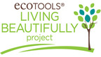 "EcoTools, a leader in eco-conscious beauty and bath accessories, launches the Living Beautifully Project. During the month of April, $1 from each purchase order made on EcoTools.com will be added to a total donation of up to $100,000 made to non-profit organizations that go above and beyond to improve their communities and honor the ""live beautifully"" philosophy of the brand.  (PRNewsFoto/EcoTools)"