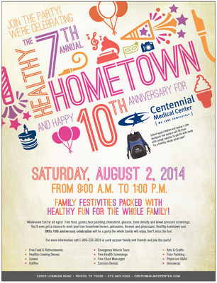 Family Festivities Packed with Healthy Fun for the Whole Family this Saturday - 8/2/14!