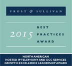 Frost & Sullivan 2015 Growth Excellence Leadership Award.