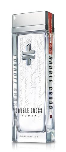 Double Cross Vodka bottle.  (PRNewsFoto/Double Cross Vodka)