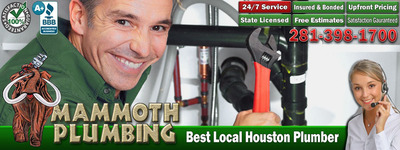 The leading choice in Houston TX for all plumbing needs. Sewer repair, Emergency Service, Water Heater repair and installation. 24/7 service. 25 years experience. Licensed, Bonded, & Insured. BBB Rated A+. Customer Satisfaction Guaranteed. Our customers are our best advertisement.  (PRNewsFoto/Mammoth Plumbing, LLC)