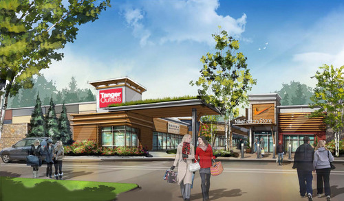 Tanger Outlet Centers and RioCan Real Estate Investment Trust Break Ground on Tanger Outlets Ottawa