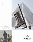 Bally's Made-To-Order 'Himalaya' fur boot, offered for a limited time to celebrate the Everest anniversary.Crafted from natural reindeer fur, this shoe is a re-engineered replica of the original trekking boot produced by Bally and worn by Tenzing in 1953.