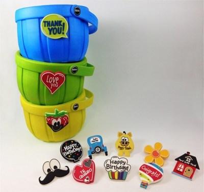 PoPots Rubber Baskets (PRNewsFoto/PoPots International, LLC)