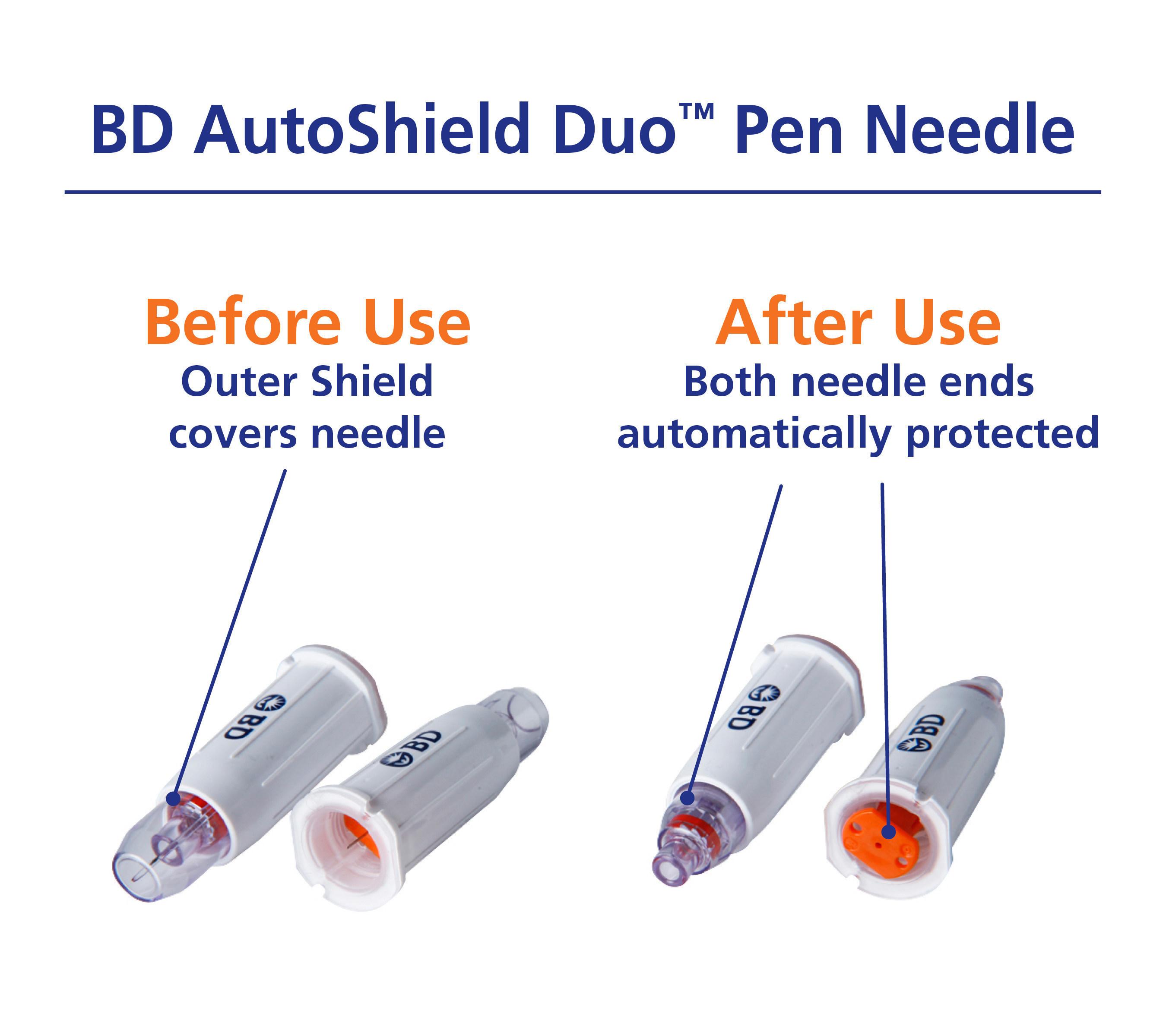 BD AutoShield Duo (TM) Pen Needle