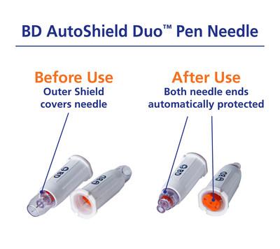 BD AutoShield Duo Pen Needle